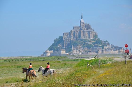 Eindrucksvolle Kulisse: Mont Saint Michel Foto: CPPMSM
