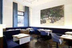 Eigenwillige Kunst im Restaurant Tim Raue