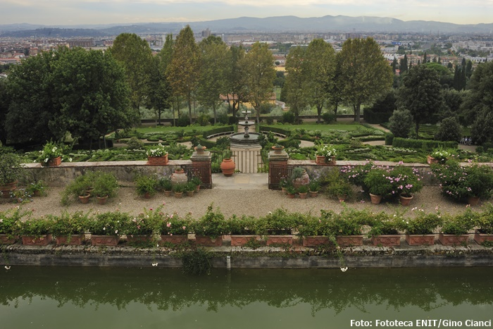 Die Villa della Petraia in Florenz