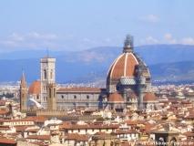 Der Dom prägt das Stadtbild von Florenz