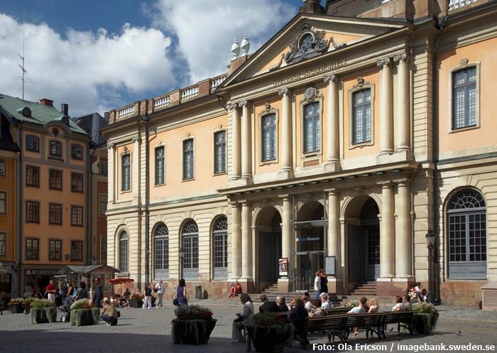 Das Nobel-Museum in Gamla Stan