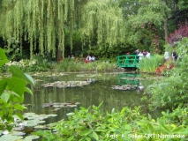 Besucher in Monets Garten in Giverny Foto: A. Solter - CRT Normandie
