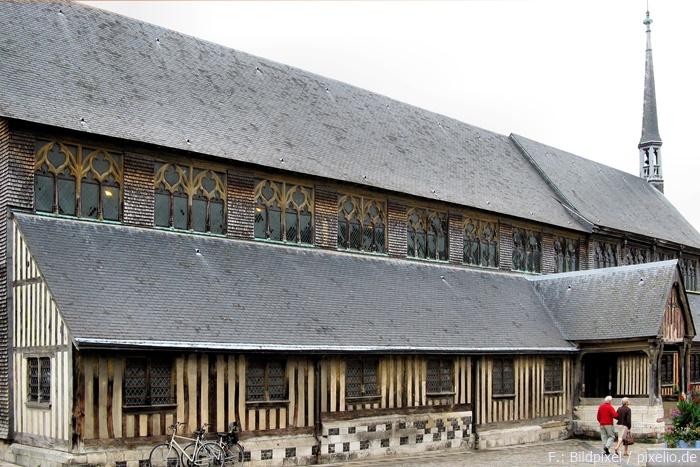 Die Holzkirche Ste. Catherine in Honfleur