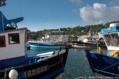 Boote im Hafen von Honfleur