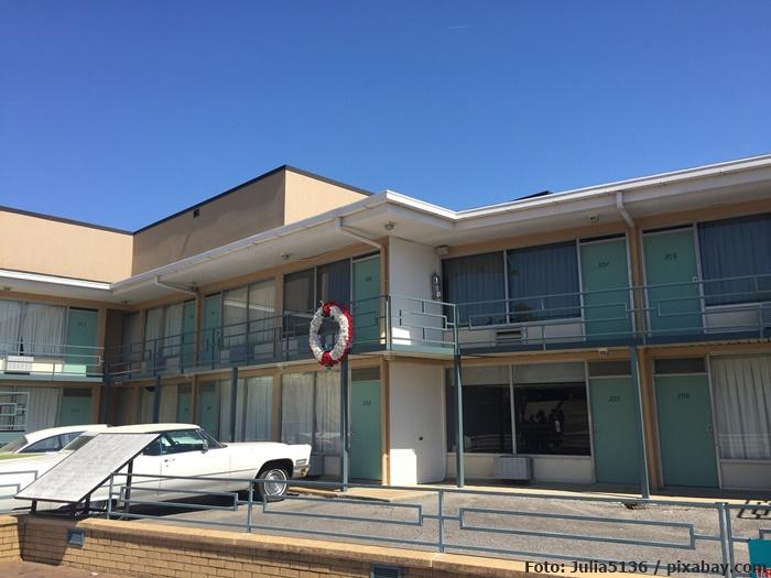 Das Lorraine Motel, in dem Martin Luther King ermordet wurde