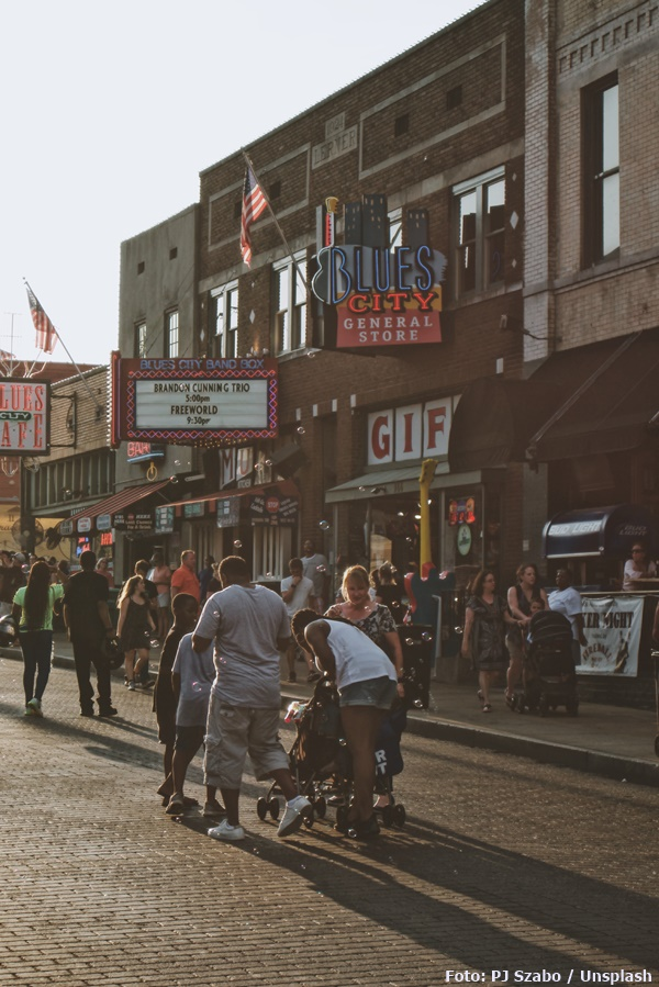 """Memphis, die """"Blues City"""""""