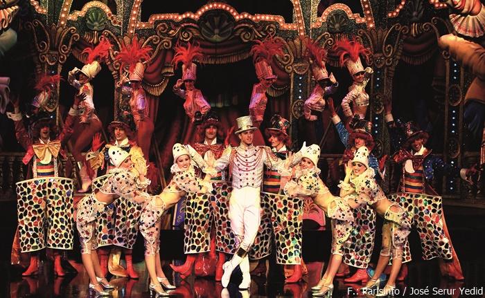 Tänzerinnen im Moulin Rouge