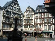 Der historische Marktplatz in Bernkastel-Kues