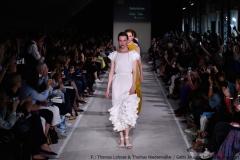 Elf Labels mit nachhaltiger Mode stellten sich bei der Show vor