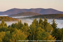 Morgenstimmung im Milan Hill State Park, New Hampshire