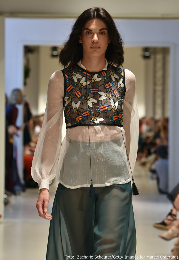 Eines der schönsten Outfits aus Marcel Ostertags Freedom-Kollektion