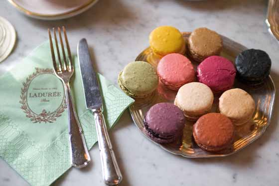 Paris - Macarons bei Ladurée