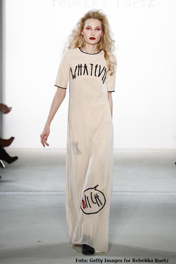 """""""Whatever"""" lautet das Motto der Kollektion von Rebekka Ruétz"""