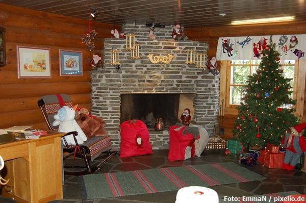 Die Kammer des Weihnachtsmannes in Rovaniemi