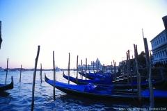 Beliebtes Fotomotiv: die Gondeln von Venedig