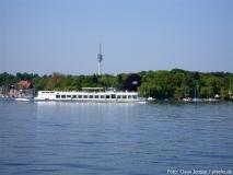 Ausflugsschiff auf dem Wannsee