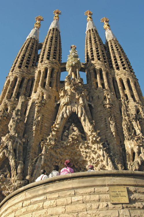 Barcelona Sagrada Familia Antoni Gaudi