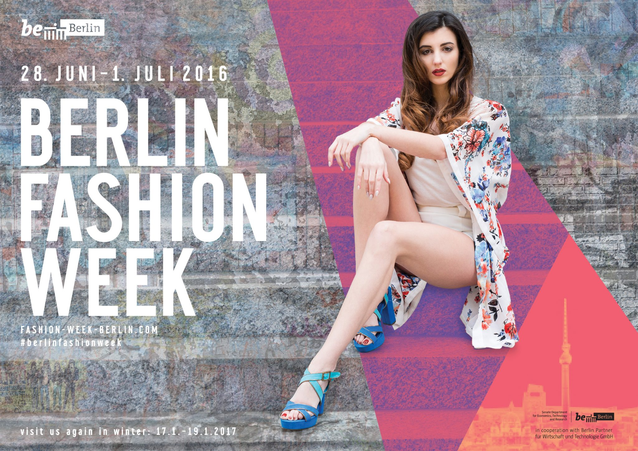 Berlin Fashion Week Sommer 2016