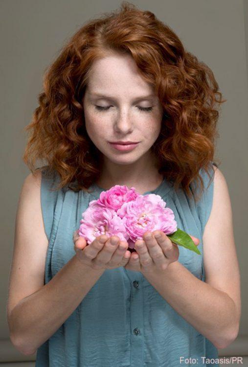 Reine Natur: der Duft der Rose