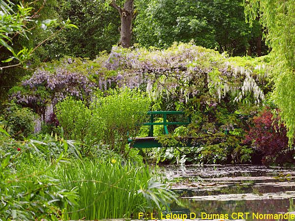 Der japanische Teich in Giverny