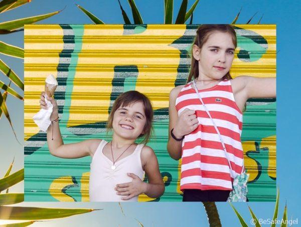 BeSafeAngel-Talisman für Kinder