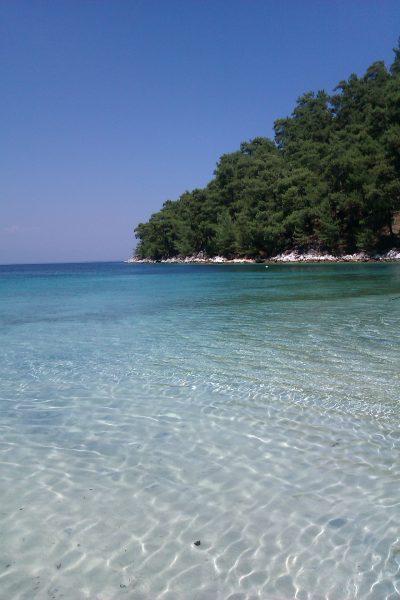Strand auf Thassos