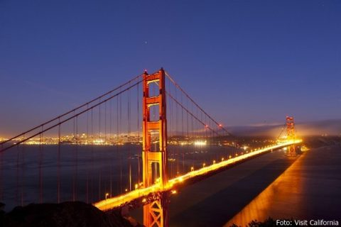 Golden Gate Bridge und Highway 1