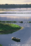 Die Loire in der Dämmerung