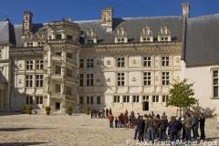 Schloss Blois war eines der Lieblingsschlösser der Könige an der Loire