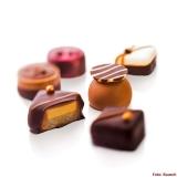 Pralinen aus Rausch-Schokolade
