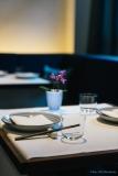 Tisch im Restaurant Tim Raue