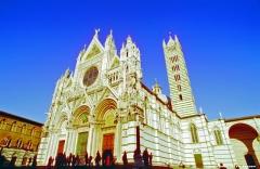 Prachtvolles Gebäude: der Dom von Siena (Toskana)