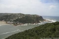 Blick von Nordosten aus den Featherbed Nature Reserve