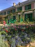 Blick auf den Garten und das Haus von Monet Foto: Delphine Martins - CRT Normandie