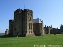 Alnwick Castle war einer der Drehorte der Potter-Filme Foto: Claudia Rothe/pixelio.de