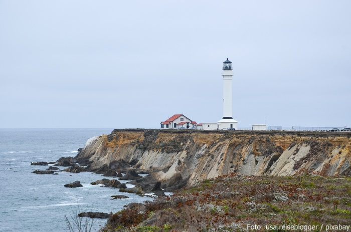 Pigeon Point Lighthouse am Highway 1