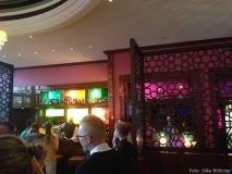 Britischer Kolonialstil und indische Farben verbinden sich im India Club Restaurant