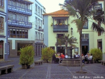 Platz in der Inselhauptstadt Santa Cruz de La Palma