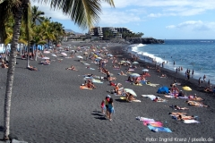 Puerto Naos ist der bekannteste Strand auf La Palma