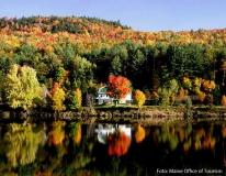Herbststimmung in Maine (Neu England)
