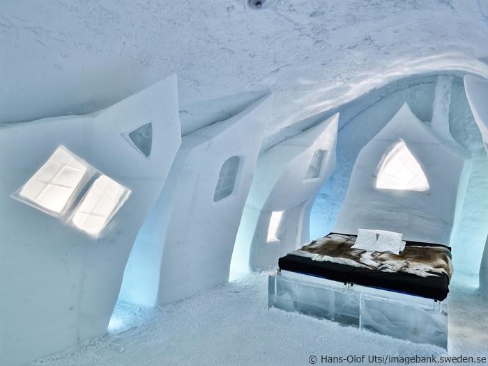 Eishotel: Wo Schneekönige Urlaub machen