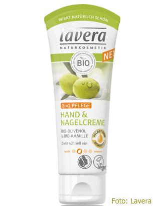 Ausprobiert: Hand- und Nagelcreme von Lavera