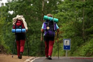 Pilger unterwegs auf dem Camino