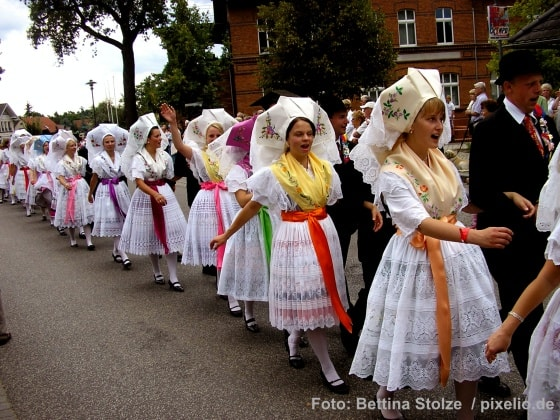 Heimat- und Trachtenfest in Burg (Spreewald)