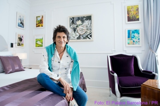 El Palace Suite by Ronnie Wood (c) El Palace Barcelona