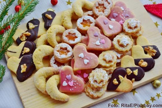 Glücksmomente in der Weihnachtsbäckerei