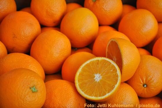 Leckere Winterfrucht: die Apfelsine